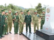 VN, Laos inaugurate new border marker