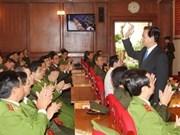 Prime Minister visits public security forces