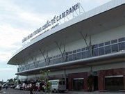 Cam Ranh airport greets first visitors in new year