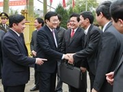 President praises rural development in Thai Binh