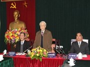 Party leader stresses ideological work