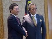 Vietnamese, Malaysian FMs hold talks
