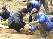 Relics of ancient work unearthed in Tuyen Quang