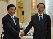 FM Minh meets Chinese leaders