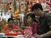HCM City markets busy for Valentine's Day