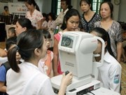 Australian NGO funds eye care services