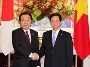 PM Noda reaffirms support for Vietnam's development