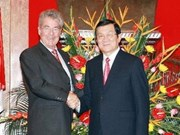 President in talks with Austrian counterpart