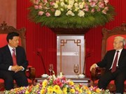 Party leader receives Chinese Communist Party delegation