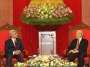 Armenian President winds up Vietnam visit