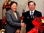 VN entrepreneur awarded Laos' Labour Order