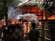 Clashes continue in Myanmar's Rakhine State