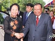 Vice President Doan in Laos