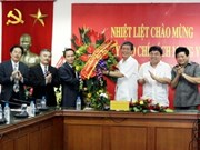 Politburo member meets media on Press Day