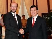 President bids farewell to Australian ambassador