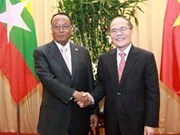 NA Chairman holds talks with Myanmar politician