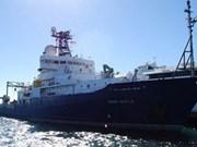 US navy research ship docks at Tien Sa Port
