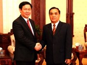 Vietnamese Finance Minister visits Laos