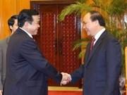 Deputy PM receives senior Cambodian diplomat