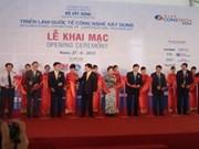 Hanoi hosts construction technology exhibition