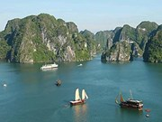 Ha Long Bay in spotlight