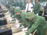 Fallen combatants' remains repatriated from Cambodia