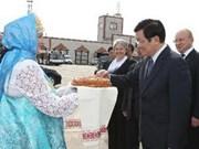 President Sang visits Russia's autonomous region