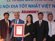 Eximbank named best domestic bank in Vietnam