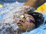 Vietnamese swimmer says goodbye to Olympics