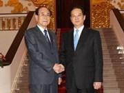 Prime Minister welcomes DPRK leader