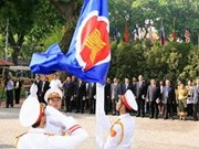 Vietnam hoists ASEAN flag to celebrate group anniversary