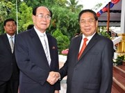 Laos, DPRK sign cooperation documents