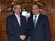 Lao transport minister welcomed in Hanoi