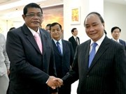 VN, Cambodia speed up drug fight cooperation