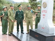 Vietnamese, Lao localities coordinate in border protection
