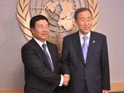 FM writes about VN-UN cooperation