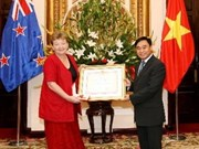 Friendship Order presented to New Zealand Ambassador