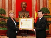 Vietnam honours French resistance leader