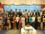 ASEAN, partners discuss women issues