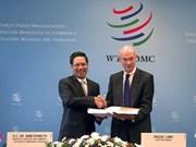 WTO accepts Laos' membership