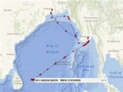 Efforts sought to search for missing crewmen off Sri Lanka