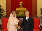 Vietnam's leaders hail visit by Bangladeshi Prime Minister