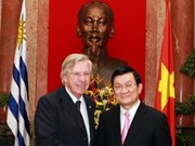 Vietnam looks to boost economic ties with Uruguay