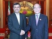 Vietnam, Iran strengthen ties