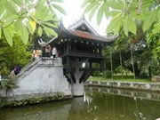 One pillar pagoda receives Asian recognition