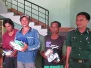 Filipino fishermen handed over