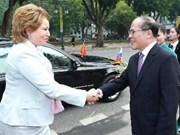 Vietnamese, Russian legislatures deepen ties