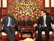 President greets newly-appointed ambassadors