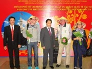 HCM City welcomes first int'l tourists in 2013