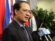 Vietnam assumes post of ASEAN Secretary General